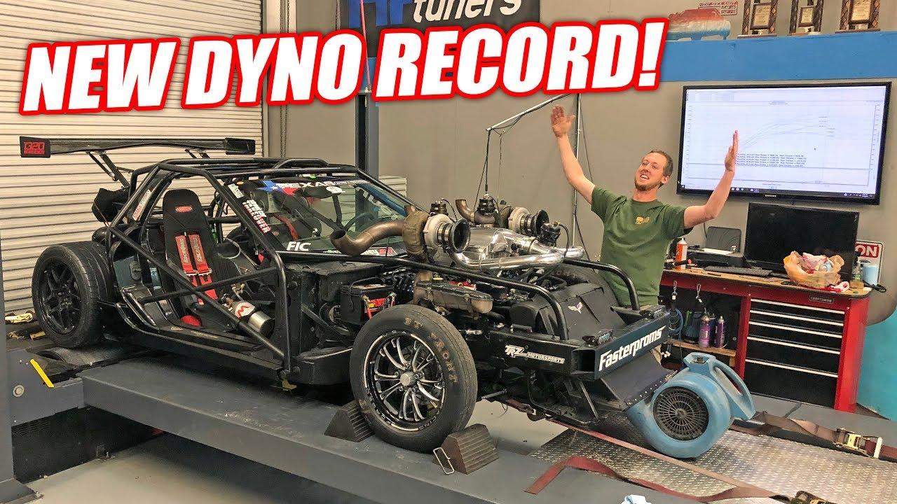*BALD EAGLE ALERT* Leroy Version 2.5 Breaks Our Shop's Dyno RECORD!