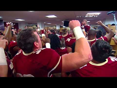 BC Football Sings the Fight Song