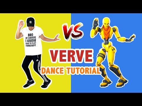 VERVE EMOTE (REAL LIFE) | DANCE TUTORIAL