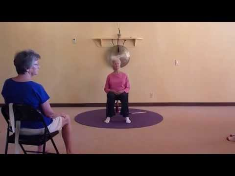 LIVE! Chair Yoga Class for Seniors with 82-yr old Yoga Teacher, Paula Montalvo