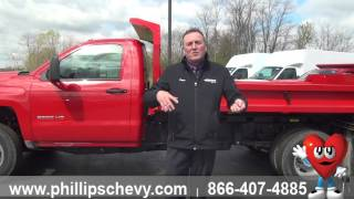 Phillips Chevrolet – 2015 Chevy Silverado 3500HD Dump Truck - Walkaround - Chicago Car Dealership
