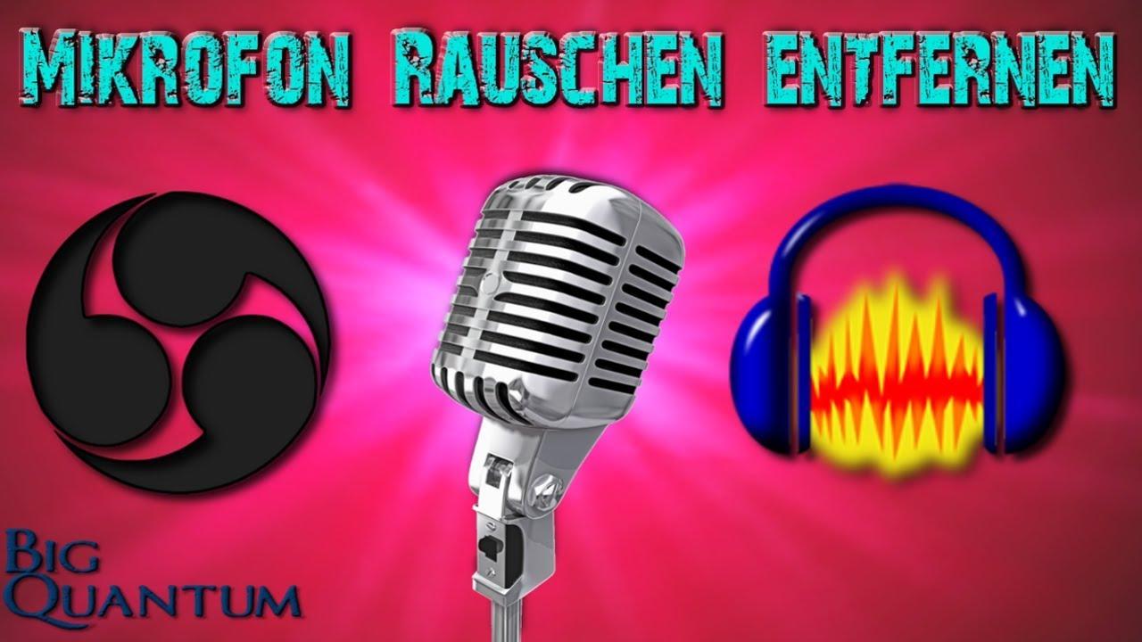 Mikrofon Rauschen