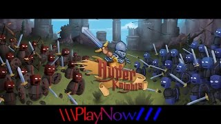PlayNow: Hyper Knights   PC Gameplay (2D Arcade Mount & Blade Game)