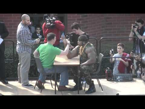 Kidz Care Tanzania: Arm Wrestling March 2012