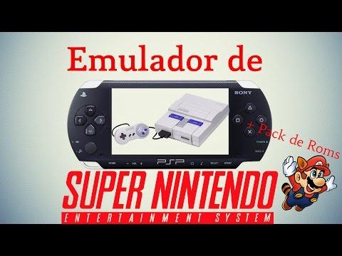 Emulador de Super Nintendo para PSP + Pack juegos ¡¡GRATIS!!