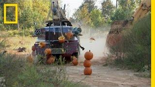 Alien Pumpkin Attack | Rocket City Rednecks