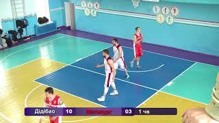 Баскетбол. Дідібао - Металург. 3-я гра