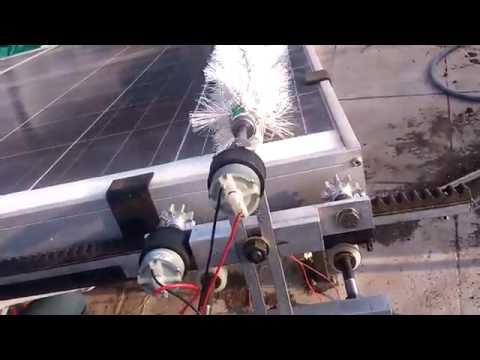 DESIGN AND DEVELOPMET OF SOLAR PANEL CLEANING MECHANISM