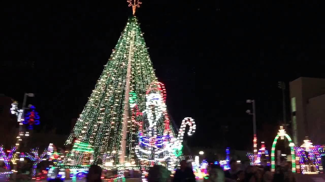 celebration of lights in downtown el paso - Celebration Christmas Lights