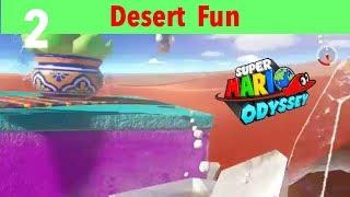 Mario Odessey Part 2-Desert Area