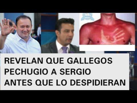 GUILLERMO GALLEGOS LE DIO UNA PECHADA A SERGIO DEL MENDEZ DEL 33