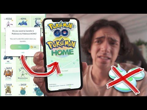 ANOTHER PAY TO USE MONETIZED UPDATE? (Pokémon GO x Pokémon HOME)