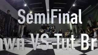 Pop Generation Popping Battle Vol.1--SemiFinal--Shawn VS Tut Bread