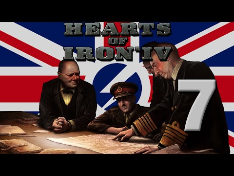 Hearts of Iron 4: The British Empire - Part 7: The Anglo-French War of 1940
