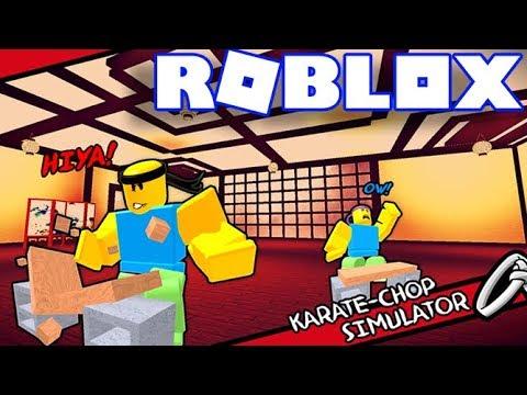 Roblox | Luyện Bàn Tay Thép Đấm Phát Mất Luôn Bộ Đồ | karate chop simulator | Vamy Trần