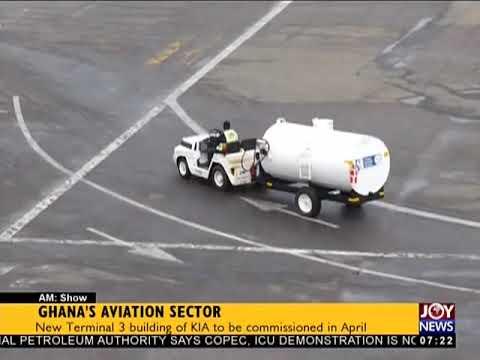 Ghana's Aviation Sector - AM Business on JoyNews (7-2-18)