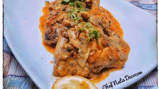 RESEP KULINER INDONESIA - Ayam krim kari jamur