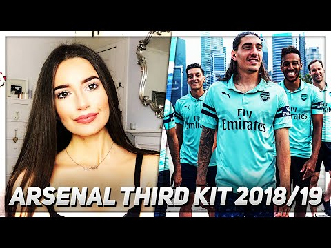 new arrival f92ae eaa2d Arsenal Third Kit Review (Sophia's Review) | 💥AFTV Young ...