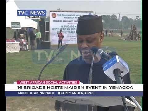 16 Brigade Hosts Maiden West African Social Activities In Yenagoa