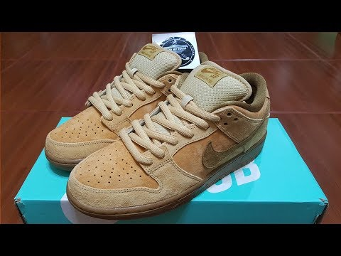 559b4a23fc4 Unboxing - Nike SB Dunk Low Reverse Wheat Forbes - YouTube