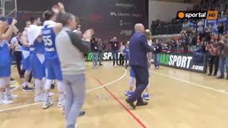 Левски Лукойл вдигна баскетболната Купа на България