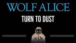 Wolf Alice • Turn To Dust (CC) 🎤 [Karaoke] [Instrumental Lyrics]