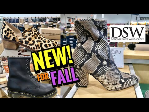 DSW Designer Shoe Warehouse Shop With Me NEW SHOES !!! Fall Fahion