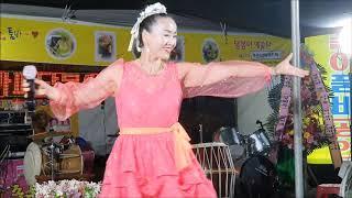 캔디품바 야간공연 달봉이공연단 고창복분자축제 2019년…