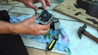 How to clean Yamaha 9.9hp-15hp 2 stroke carburetors