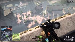Battlefield 4 BF4 FLOOD ZONE Sniper Xbox 360 Gameplay (Conquest) Part 1 HD 1080p
