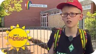 SEHBEHINDERTER JUNGE Tim DARF NICHT zur SCHULE TROTZ HOCHBEGABUNG | SAT.1 Frühstücksfernsehen | TV