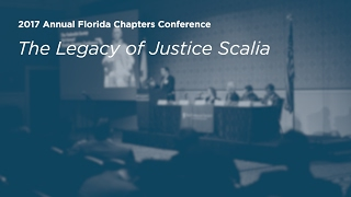 The Legacy of Justice Scalia