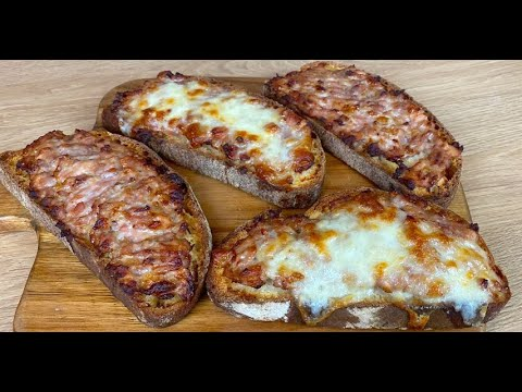 Sausage bruschetta a delicious appetizer for the whole family
