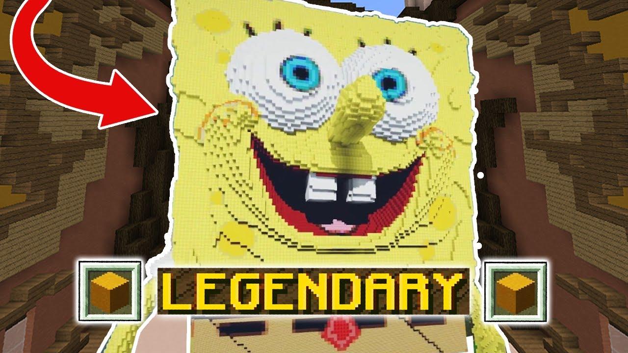 ONLY CARTOONS CHALLENGE (Minecraft Build Battle) - YouTube