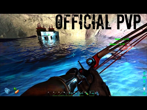 UNDERWATER TAMES w/ Angler and Mosa - Official PVP (E63) - ARK Survival
