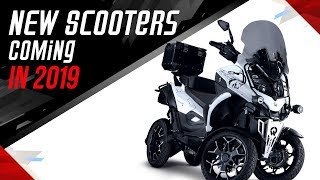 5 Amazing New Scooters Coming 2018
