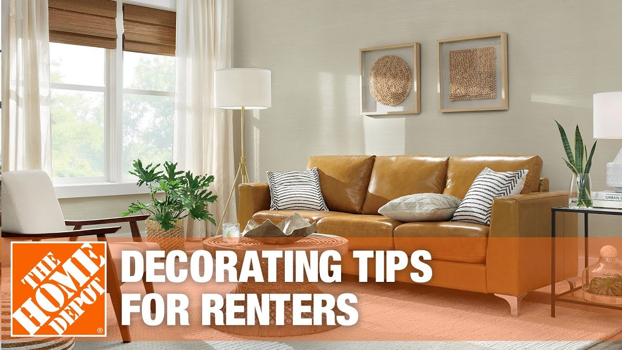 Decorating Tips for Renters - The Home Depot
