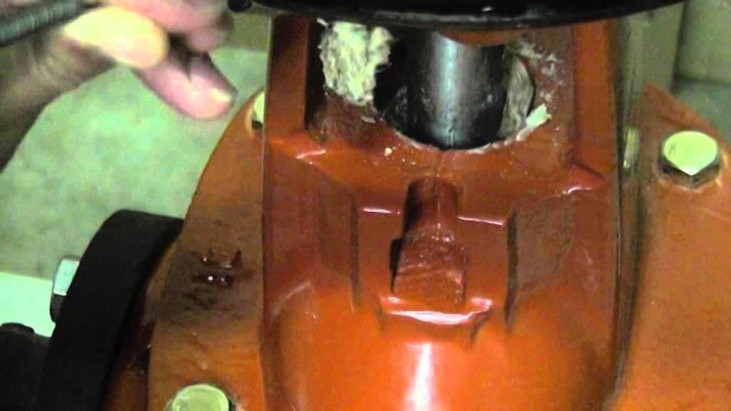 Valve Packing Leak Sealing : Gate valve packing sample video youtube