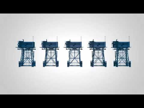 Technical animation offshore grid concept