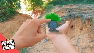 Pokémon GO IN REAL LIFE! | Catching ODDISH