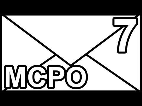 MCPO 7 - TOO MANY PUZZLES!!