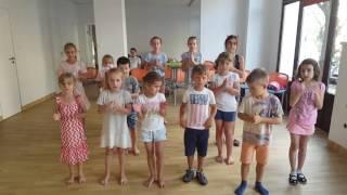 Первый урок ритмики в театральной школе АПАРТ г. Варшава