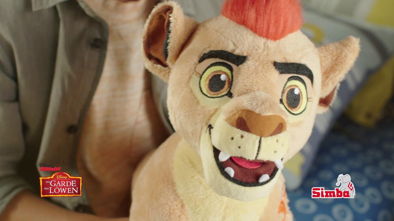Disney Simba Toys Löwe Kion Die Garde König der Löwen 35 cm Kuscheltier spricht Film- & TV-Spielzeug