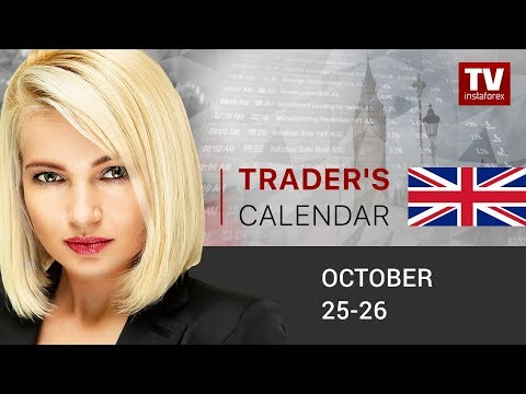 Trader's calendar October 25 - 26: ECB meeting and US GDP data to change euro/dollar price move?