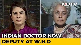 Indian Paediatrician Dr Soumya Swaminathan Appointed Deputy Director General At WHO