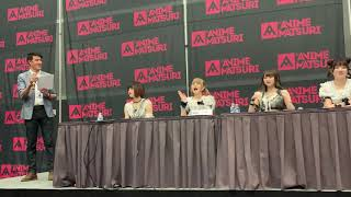 LadyBaby in Houston at the at the Anime Matsuri convention Q&A.