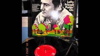 Lefty Frizzell-- I Just Couldnt See The Forest(For the trees) YouTube Videos