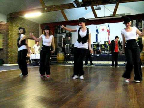 Swing Zing jazz / hip hop routine 18-11-10