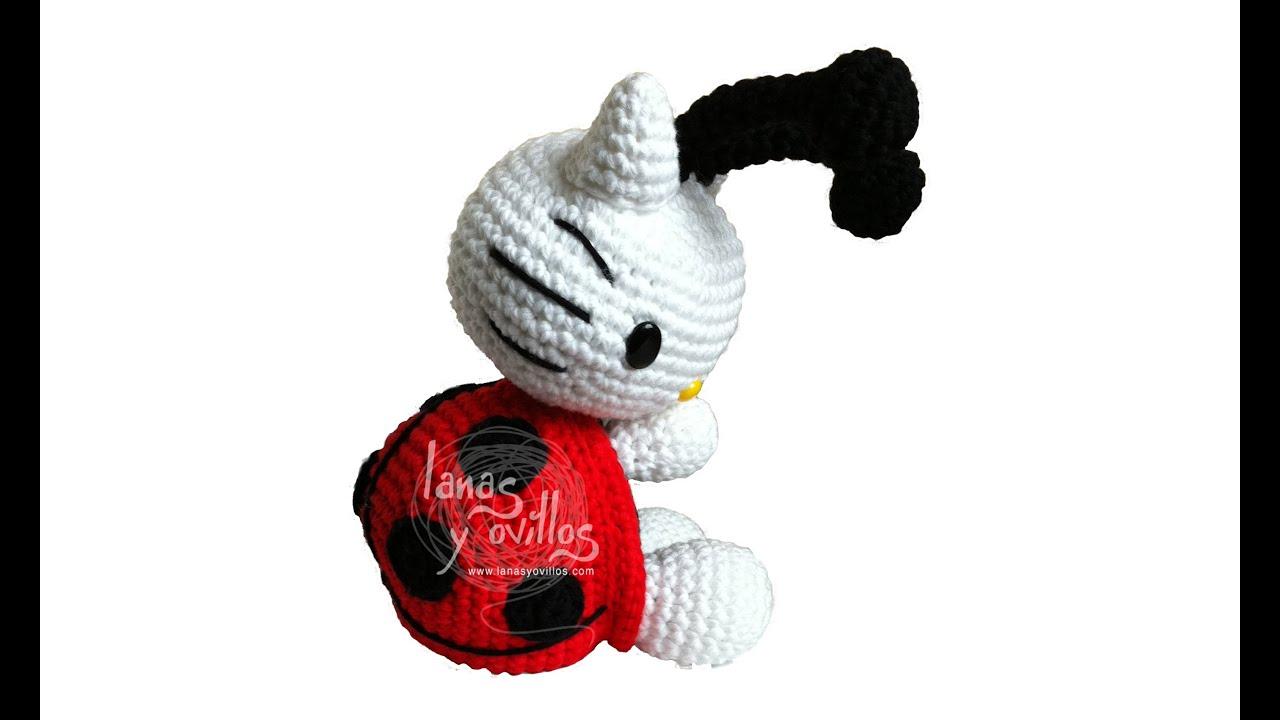 Crochet Hello Kitty amigurumi free pattern – Free Amigurumi ... | 720x1280