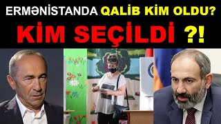 Ermənistanda Seçkilərin SON SAATA OLAN NƏTİCƏLƏRİ! Son xeberler bugun 2021.ermenistanda son veziyyet